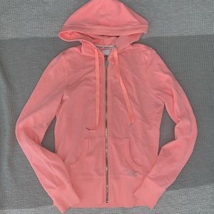 Victoria Secret zip-up hoodie
